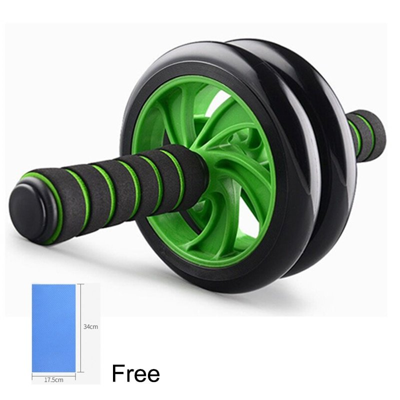AB Roller with Resistance Bands